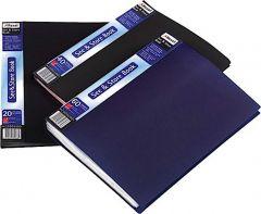 Rexel Display Book A4 60 Pocket Black