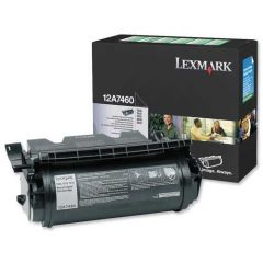 12A7460 Lexmark Laser Toner Cartridge Refill Black
