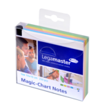 Legamaster Magic Notes Ast 10x10mm  250 sheets