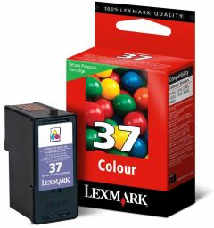 18C2140E  Lexmark Colour Inkjet Cartridge Refill Ink No 37