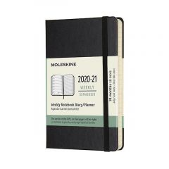 Moleskine Weekly Notebook Diary Softback 18 Month XLarge 2020-2021