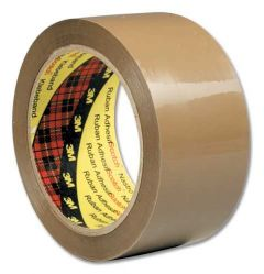 3M Scotch Low Noise Buff Tape 48mm x 66 Metres Pack 6