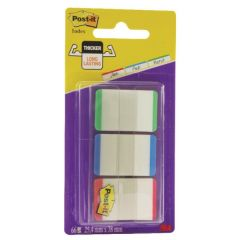 Post-it Red/Green/Blue Strong Index Colour Tips