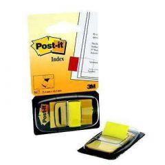 Post-it Index Tab 25mm Yellow 680-5