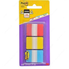 Post-it Red Yellow Blue Strong Index Full Colour