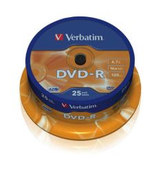 Verbatim DVD-R 16X Spindle25 43522