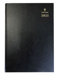 Collins A4 2 Pages a Day Diary 2021