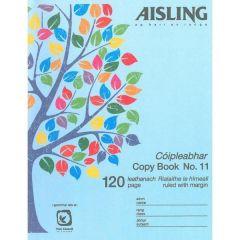 Aisling copy book 11 120 pages (10PK)