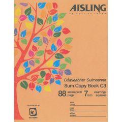 Aisling Sum copy book C3 (10PK)