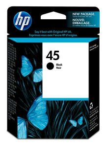 51645A HP Inkjet Cartridge Refill Ink Black No. 45