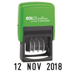 COLOP Green Line Date Stamp