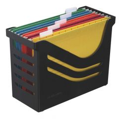 Atlanta Recycled Office Box 5 Files Black