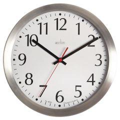 Acctim Javik 10 inch Aluminium Wall Clock