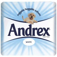 Andrex Toilet Roll Classic White (Pack of 24)