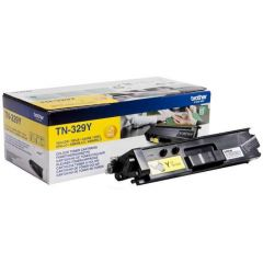 Brother Super High Yield Toner Cartridge Yellow Pack of 1 TN-329Y