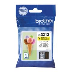 Brother LC3213Y Inkjet Cartridge Yellow High Yield