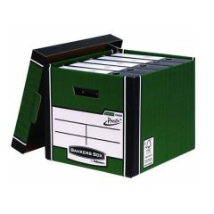 Archive Storage Boxes Premium Presto Tall Green/White