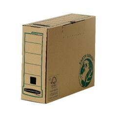 Transfer File Bankers Box Earth Brown Pack 20