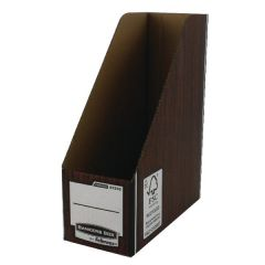 Premium Magazine File Brown By Bankers Box Pk 10