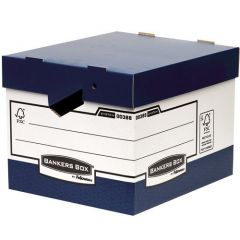 Heavy Duty Storage Boxes Ergonomic Handle Pk10