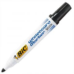 Bic Velleda Whiteboard Marker Bullet Tip Black 701099 Pk 12's