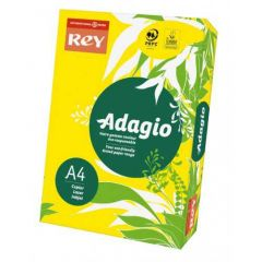 Adagio Card A4 160gsm Yellow Pack of 250 AY2116