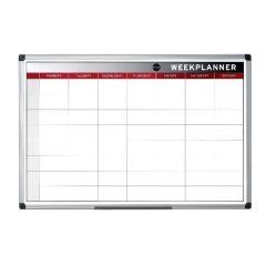 Bi-Office Magnetic 90x60cm Week Planner