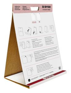 Table Top Self-Stick Flipchart Pad 20 Sheets