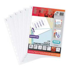 Elba Quick Punched Pocket Clear