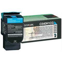 C540H1CG Lexmark High Yield Laser Toner Cartridge Refill Cyan