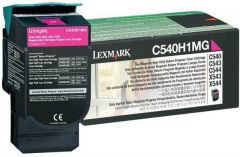 C540H1MG Lexmark High Yield Laser Toner Cartridge Refill Magenta