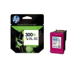 CC644EE HP Inkjet Cartridge Refill Ink Tricolour No. 300XL