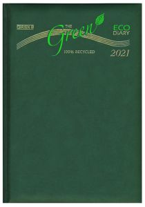 A5 Page A Day Eco-Friendly Padded Diary