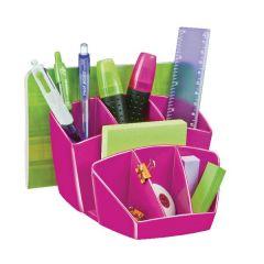 Desk Tidy Pro Gloss Pink