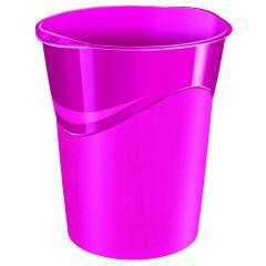 Waste Bin Pro Gloss Pink 14L