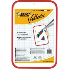 Bic Velleda Dry Wipe Board 300x440mm