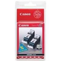 Canon Inkjet Cartridge Twin Pack Black 2932B009 PGI520Black