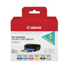 Canon PGI-550/CLI-551 Colour Ink Pack