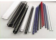 Acco GBC Binding Comb 8mm A4 21-Ring Black Pack of 100 4028174