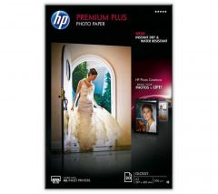 HP Photo Paper 300gsm Glossy A3 Pack of 20 CR675A