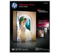 HP Photo Paper 300gsm Glossy 13x18 cm Pack of 20 CR676A