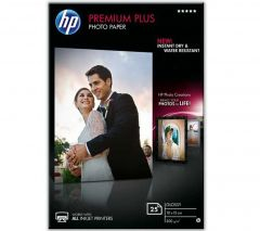 HP Photo Paper 300gsm Glossy 10x15cm Pack of 25 CR677A