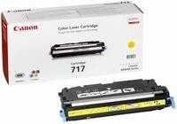 717Y Canon Laser Toner Cartridge Refill Yellow