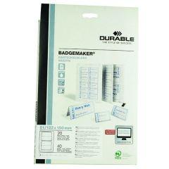Durable Badgemaker Insert 61x150 1459/02