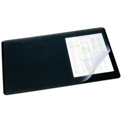 Durable 400x530mm Clear/Black Desk Mat