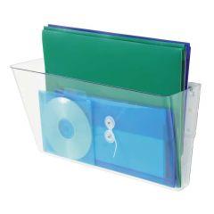 Deflecto Linking Wall File Pocket A4 Clear