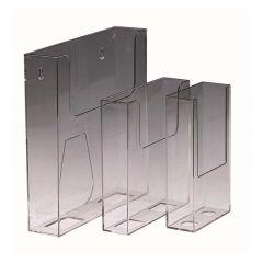 Deflecto Flat Back Literature Holder A4