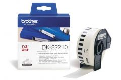 DK22210 Brother White Continuous Paper
