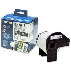 DK22212 Brother White Continuous Film