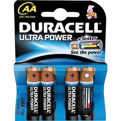 Duracell Ultra M3 Battery Pack of 4 AA 75051955